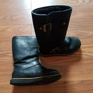 Uggs - black leather
